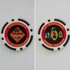 Ordance Poker Chips